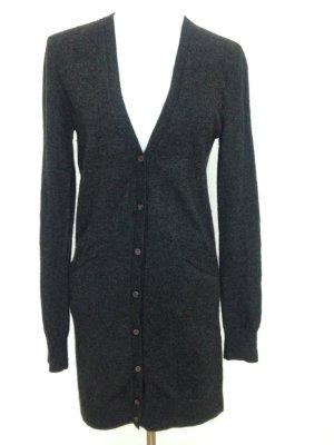 0039 Italy Veste en tricot gris anthracite laine