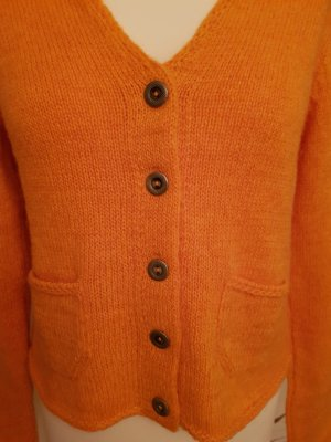 Best Connections Veste en tricot orange