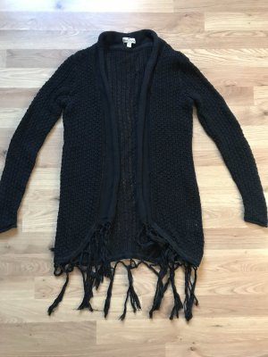 Blue Motion Cardigan black