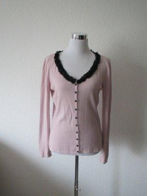 Strickjacke von Blumarine in rosa und schwarz