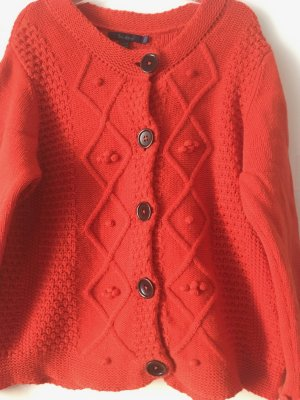 Boden Wool Jacket dark orange