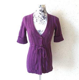 Strickjacke von Esprit; violett; Größe XS
