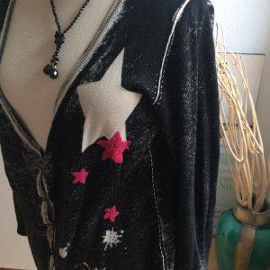 Strickjacke von FROGBOX, schwarz, Grösse 42 - mit Cashmere