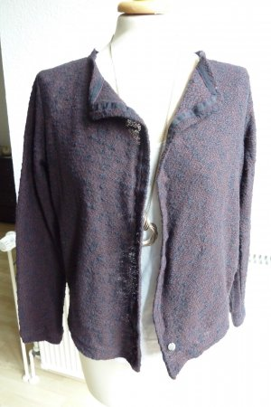 Strickjacke von Garcia meliert / Boucle Optik