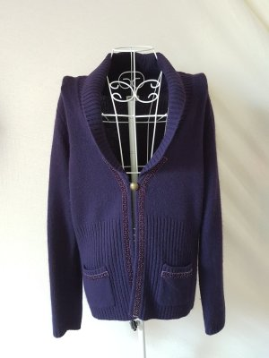 Strickjacke von Gerry Weber mit Perlenapplikationen Gr. 40
