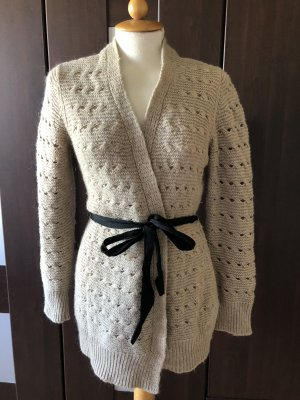 H&M Coarse Knitted Jacket beige