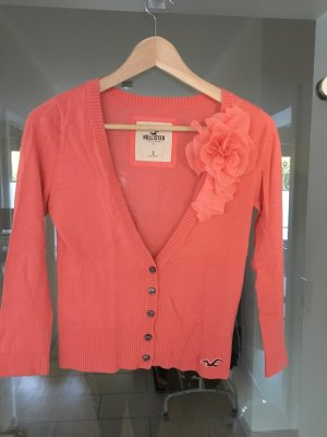 Hollister Knitted Bolero salmon