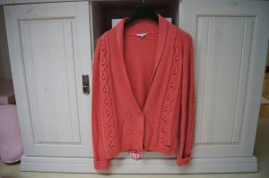 Marc Jacobs Coarse Knitted Jacket salmon cotton