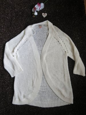 Only Coarse Knitted Jacket cream polyacrylic