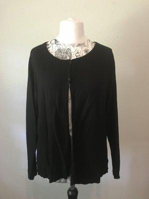 Street One Veste en tricot noir