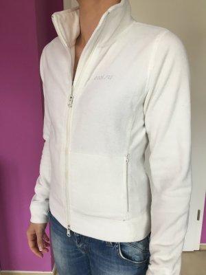 Strickjacke Weiß Gr XS Cardigan Amisu Fleece