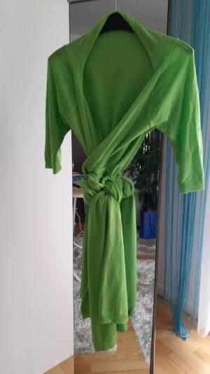 Wraparound Jacket neon green