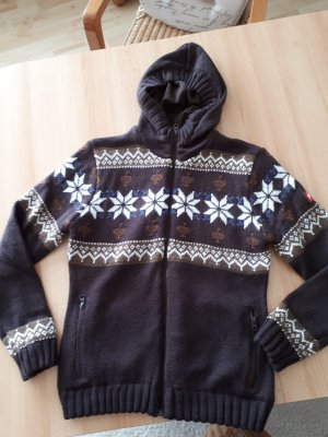 Strickjacke Winddicht