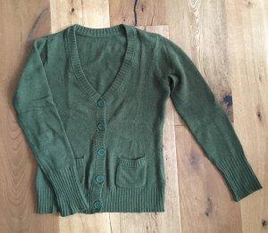 Strickjacke Wolle / Angora