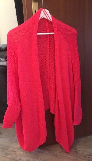 Zara Veste en tricot rose
