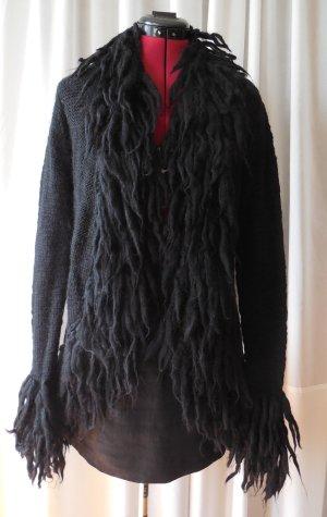 Strickjacke Zara Gr. 36 Zotteljacke stylisch super