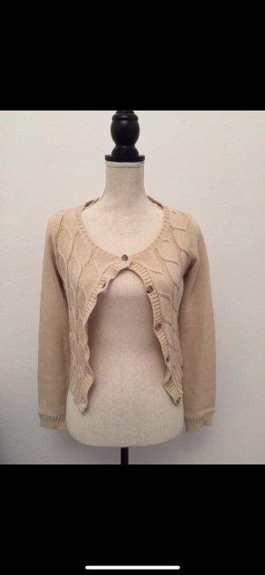Zara Prendas de punto beige-marrón