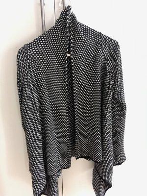 Strickjacke | Zara | schwarz-weiß