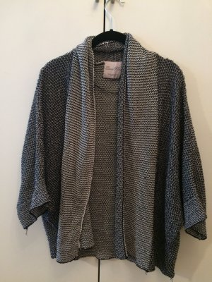 Zara Cardigan tricotés noir-blanc