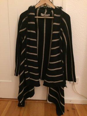 Strickjacke Zara schwarz-weiß Größe S