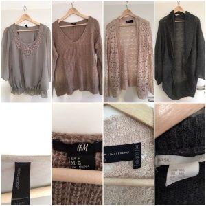 Strickjacken und Pullover