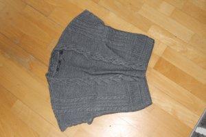 Esprit Chaleco de punto gris antracita tejido mezclado