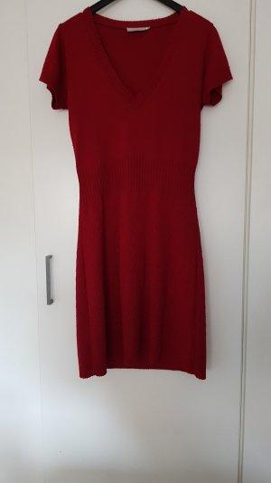 Zabaione Abito di maglia rosso scuro-bordeaux