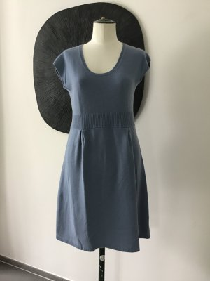Allude Knitted Dress azure cashmere