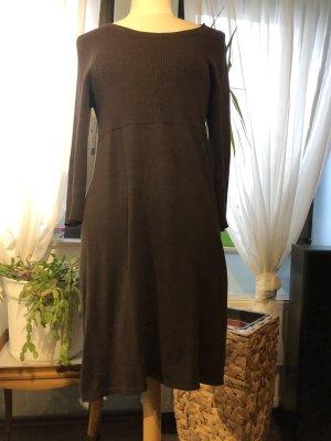 Steve Ketell Knitted Dress brown mixture fibre