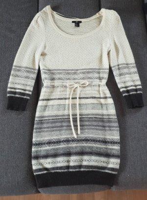 H&M Vestido de lana multicolor