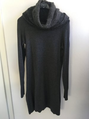 Hallhuber Abito di maglia grigio scuro-grigio