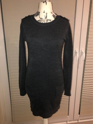 Knitted Dress anthracite-dark grey