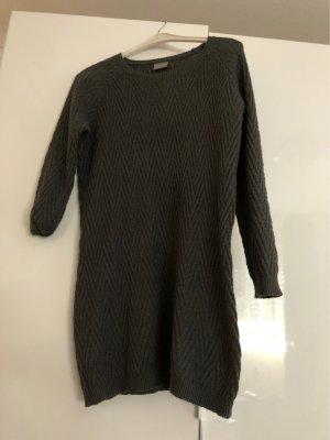 Vero Moda Gebreide jurk grijs