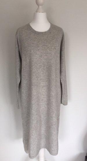 Allude Abito di maglia grigio chiaro