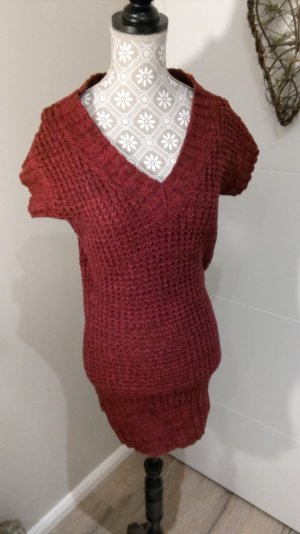 Strickkleid b in Bordeaux