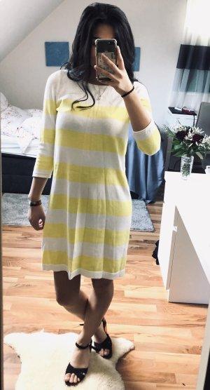 H&M Abito di maglia giallo-giallo chiaro