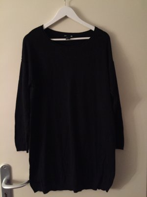 H&M Gebreide jurk zwart
