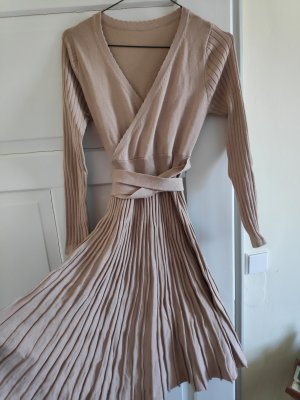 & other stories Longsleeve Dress rose-gold-coloured-nude