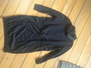 COS Knitted Dress black merino wool