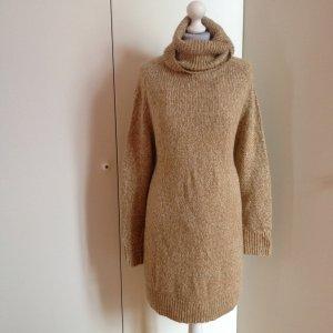 Strickkleid cozy warm Rollkragen
