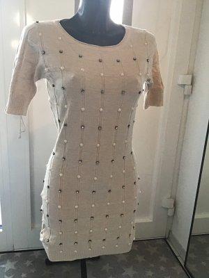 Beauty Women Knitted Dress cream