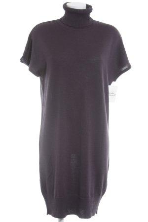 Strickkleid dunkelviolett Casual-Look