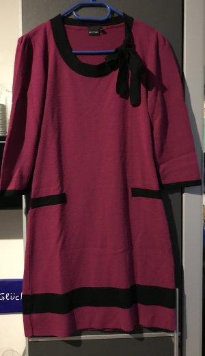Bodyflirt Gebreide jurk zwart-paars