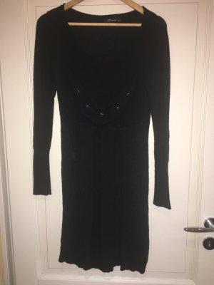 Finery Robe en maille tricotées noir