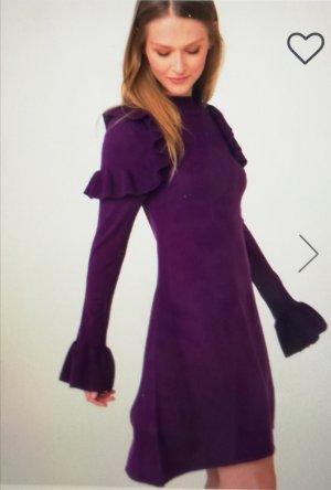 Pimkie Knitted Dress dark violet