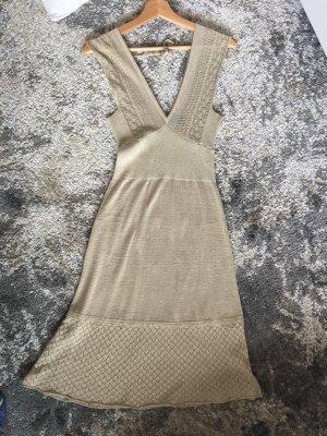 Strickkleid, Gold/lurex, in S, Mango suit