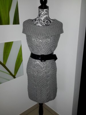 Strickkleid#Grau#chic#comfortable