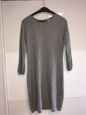 Jacqueline de Yong Gebreide jurk grijs