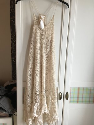 Strickkleid in beige