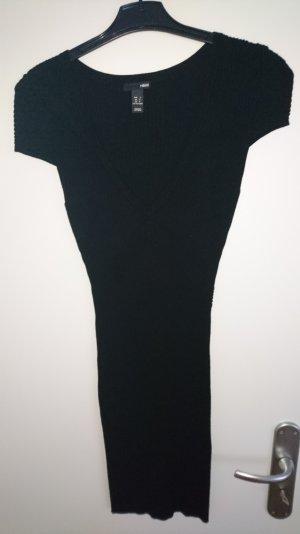 Strickkleid in Schwarz